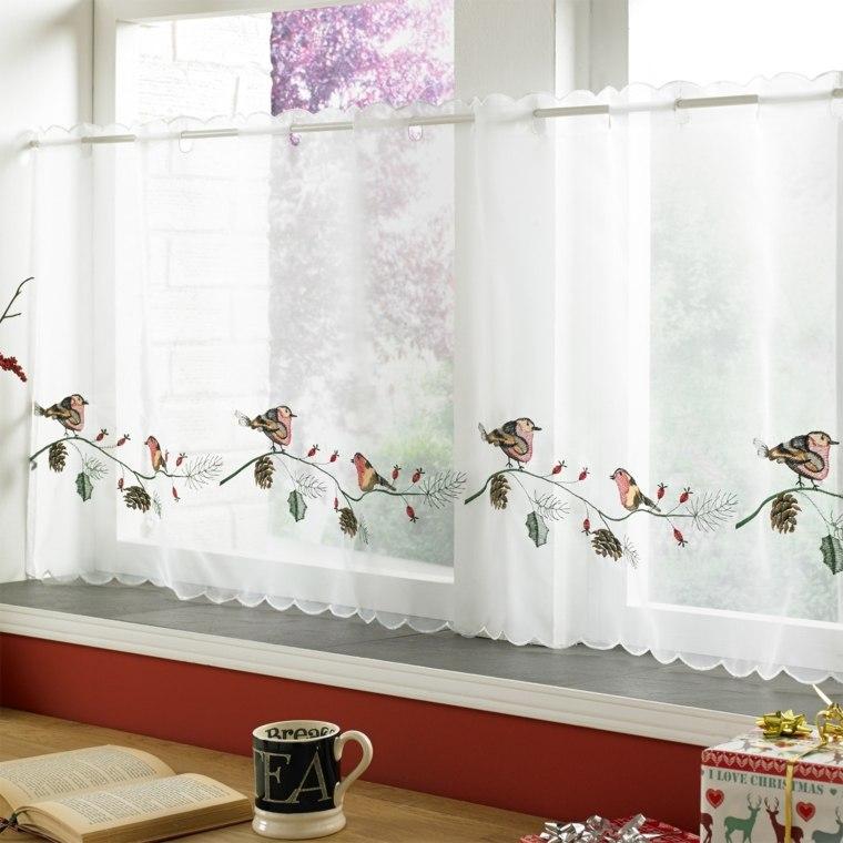 Visillos cocina para decorar los interiores modernos for Visillos confeccionados