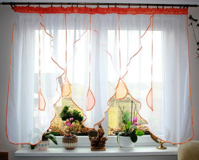 Visillos cocina para decorar los interiores modernos - Visillos para cortinas ...