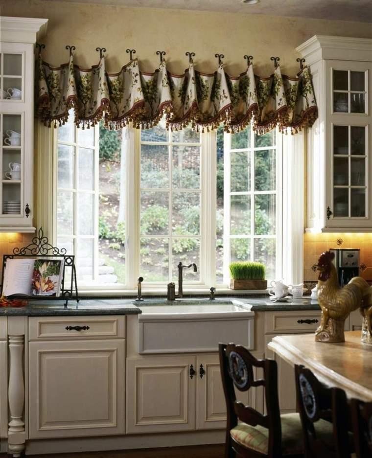 Visillos para cocinas modernas cmo hacer una bonita - Visillos para salones ...