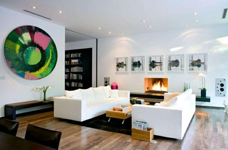 vivios calidos estilos rocas rosa muebles