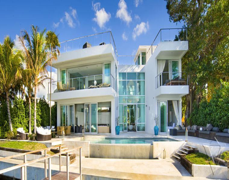 Waterfront residencia en miami
