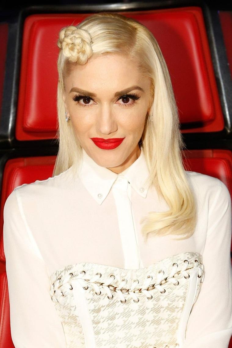 Gwen Stefani manera nueva llevar trenza ideas