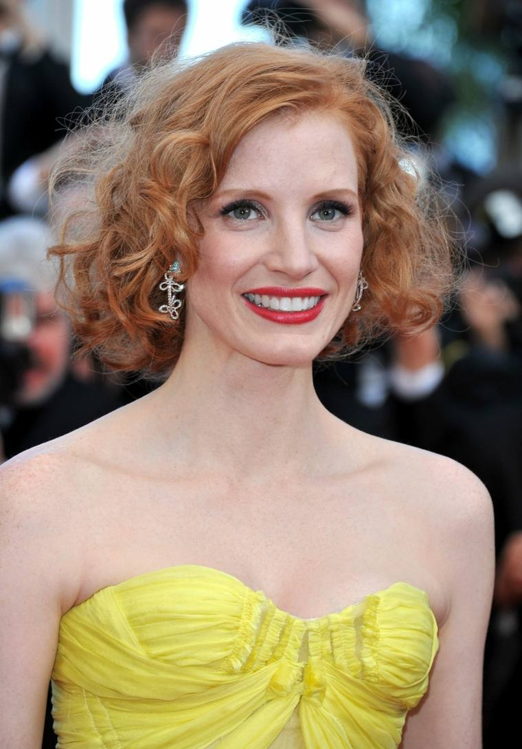 jessica chastain rizos ideas