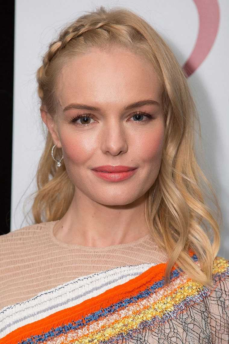 Kate Bosworth peinado moderno simple original ideas