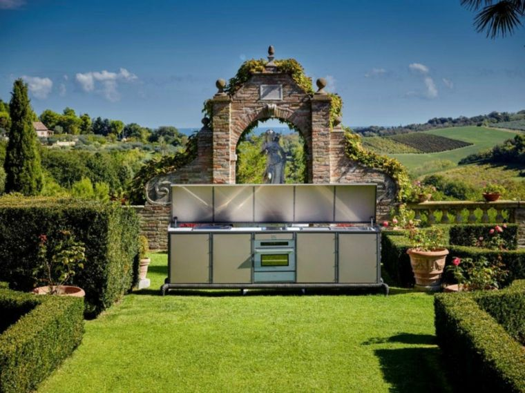 Samuele Mazza funcionales elegantes concetpos muebles jardines