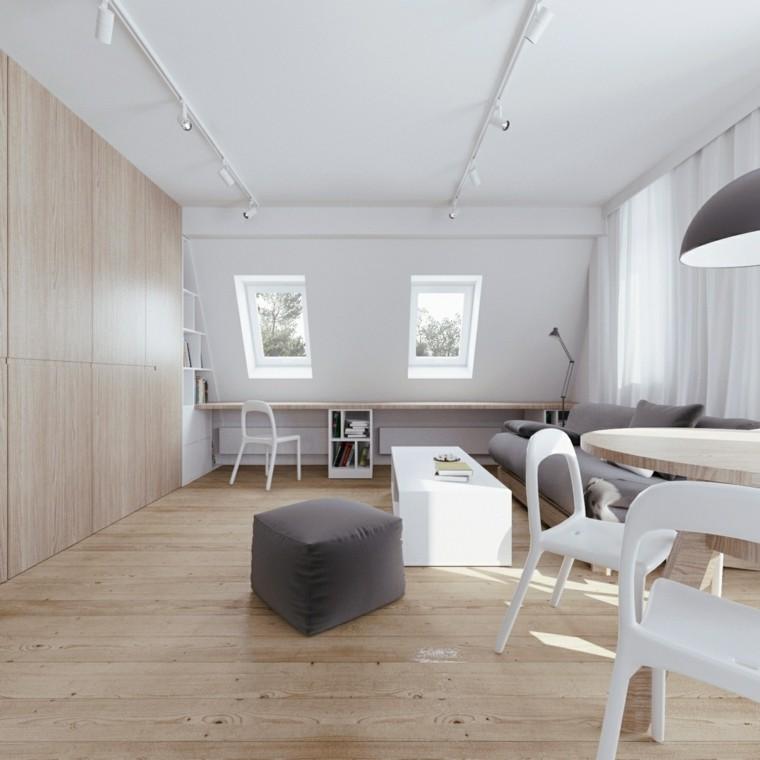 abierto conceptos madera muebles amplios cuadros