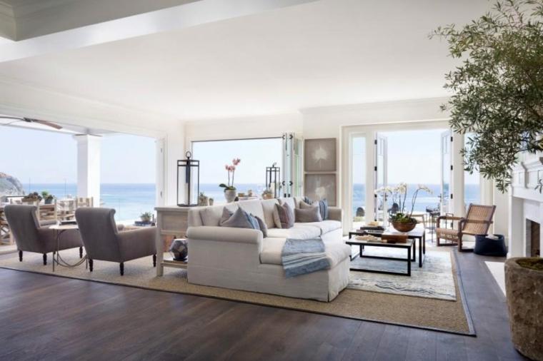 abierto costero espacios muebles grises froles