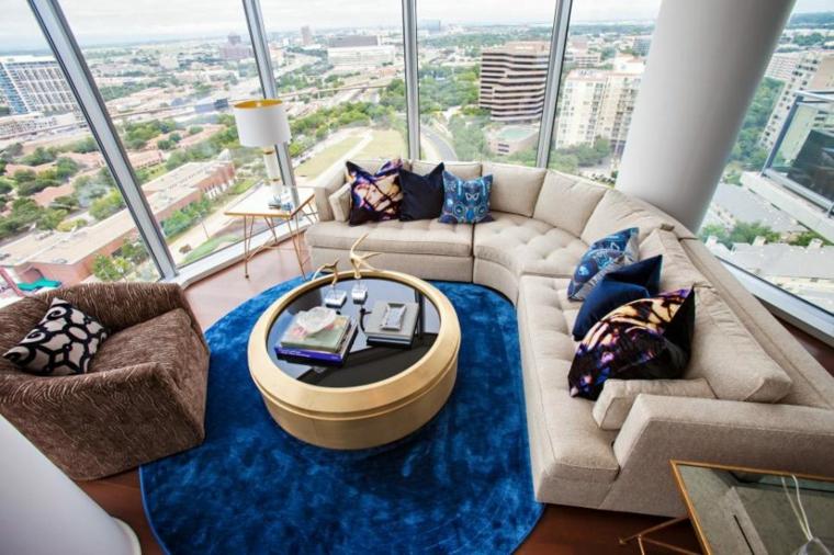 alfombras espciales color tonalidades civo cojines