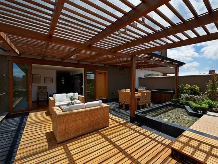amplia fresca madera contenidos fija extremo