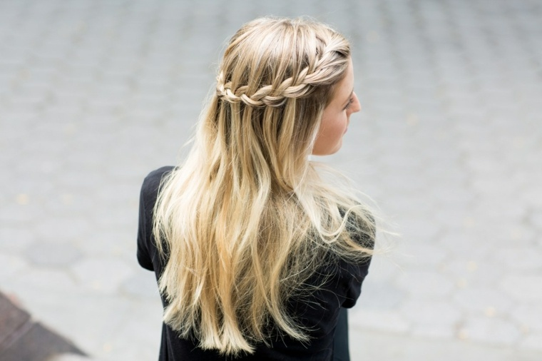 annie straight pelo trenza ideas