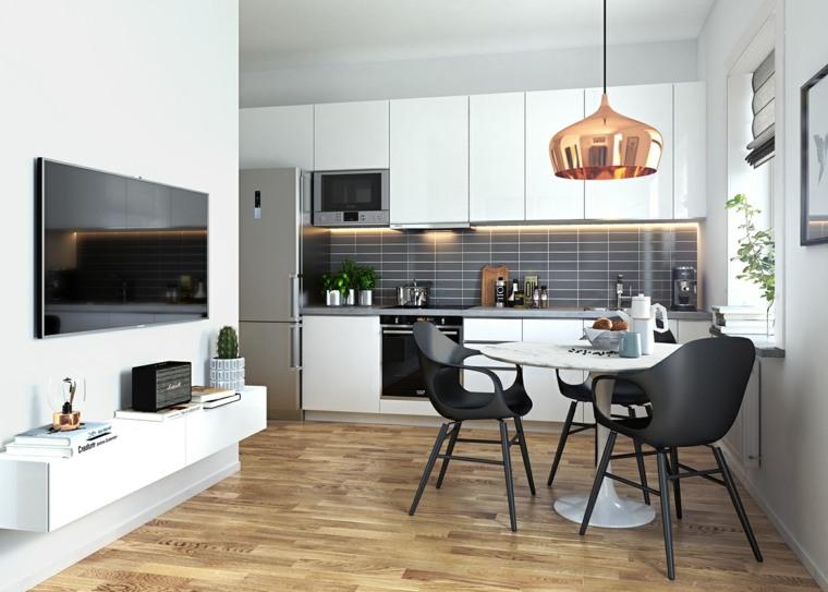 Cocinas modernas 42 espacio pr cticos y funcionales for Estilo moderno definicion