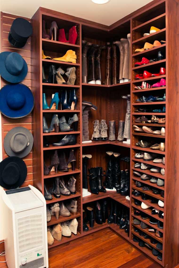 ordenar zapatos estantes