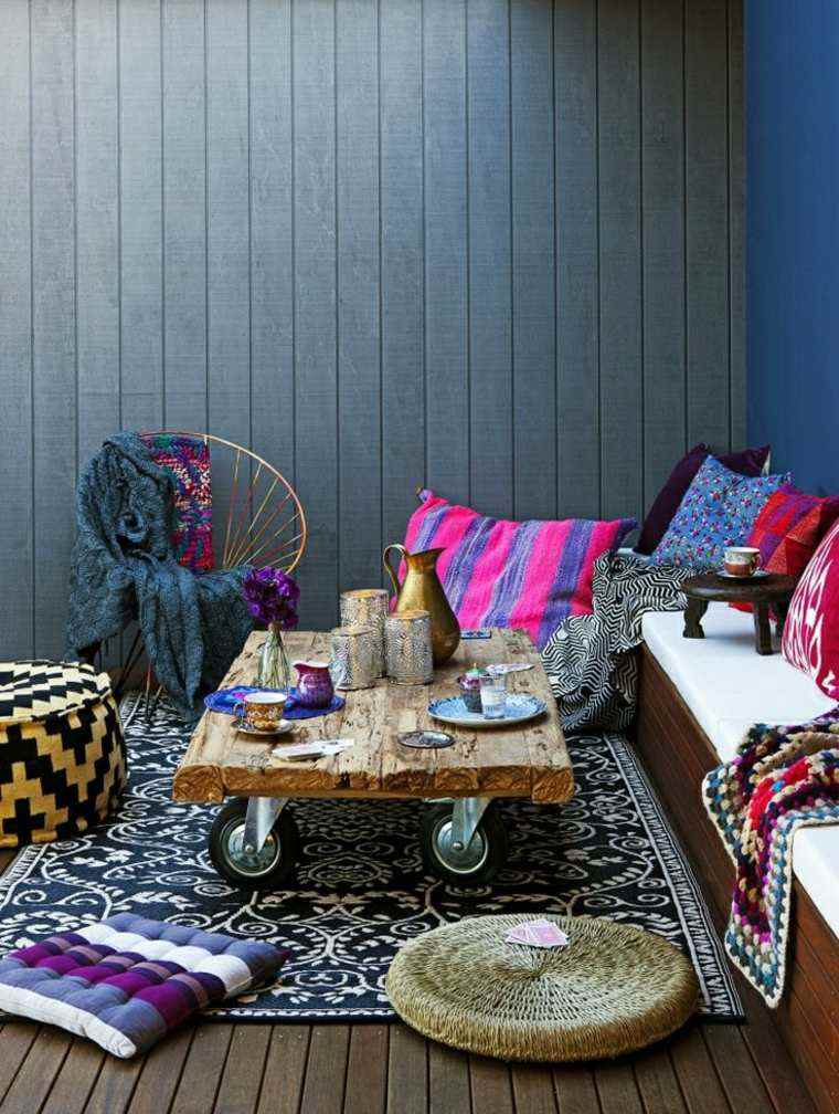 asombroso estilo salones terraza grises