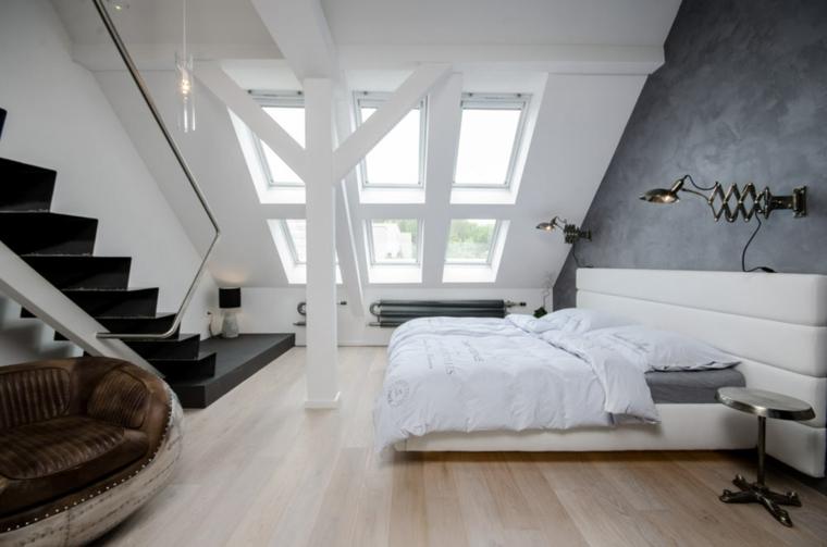 aticos diseños muebles salones decoraciones lamparas