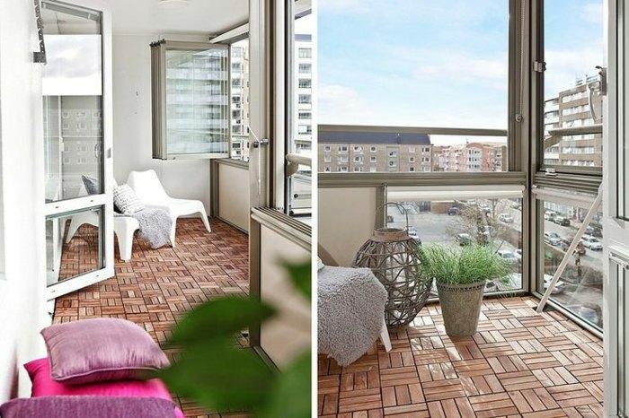 balcon diseño ojines rosa suelos plantas