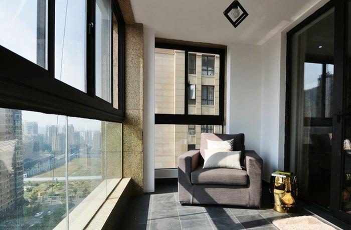 balcon diseño conceptos materiales cojines