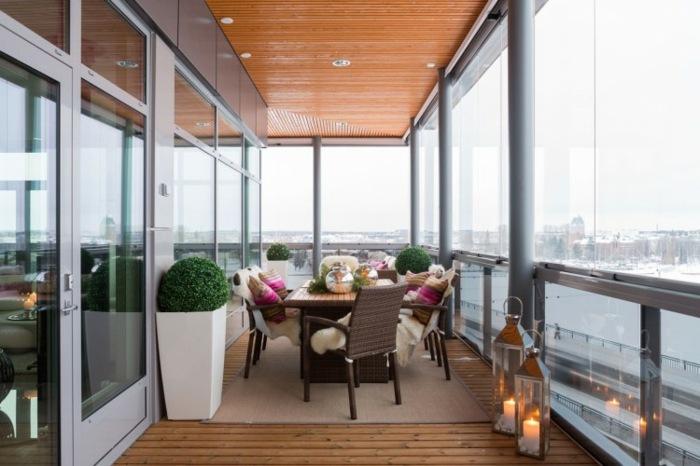 balcon diseño marino estilos modernos velas