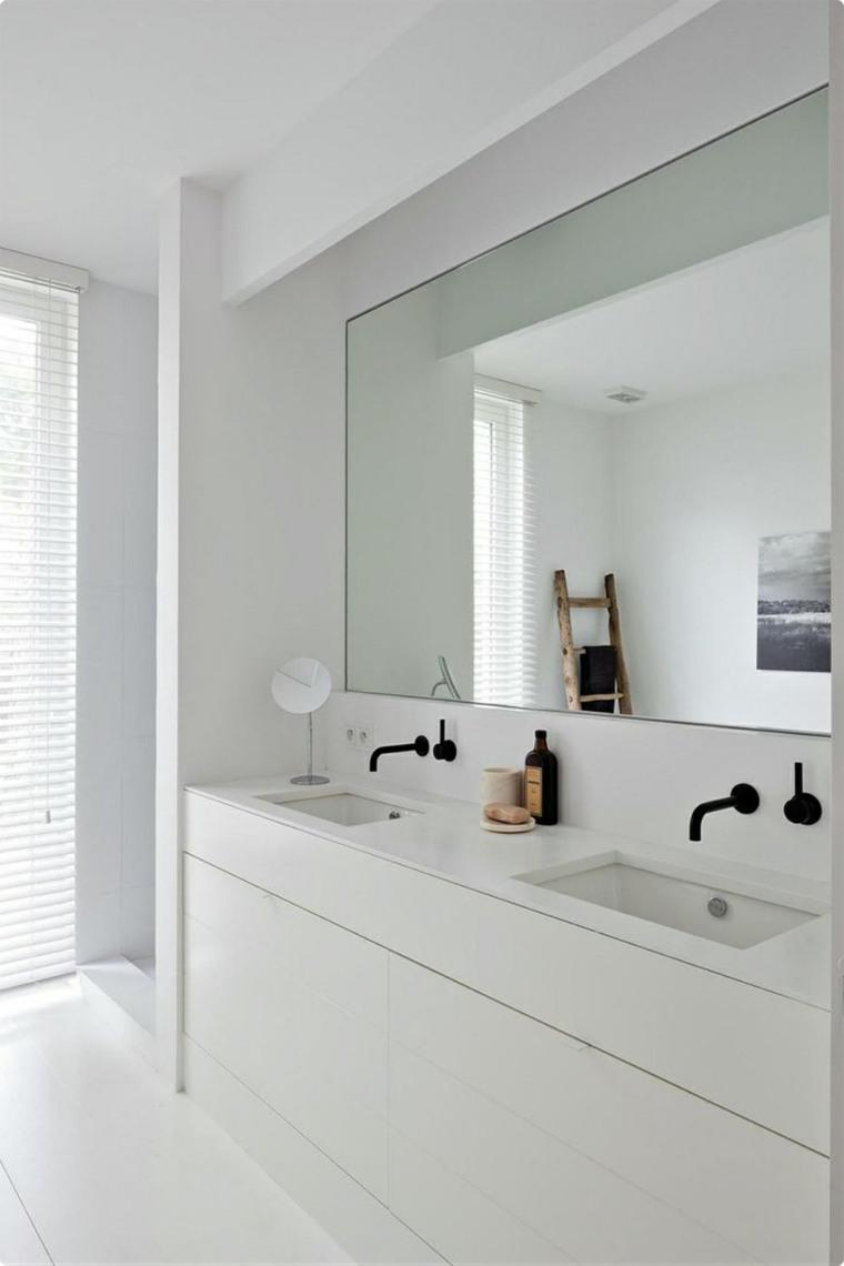 baño espejo decorar