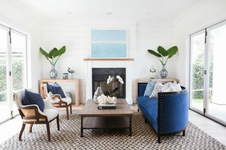 blanco colores muebles efectos detalles plantas