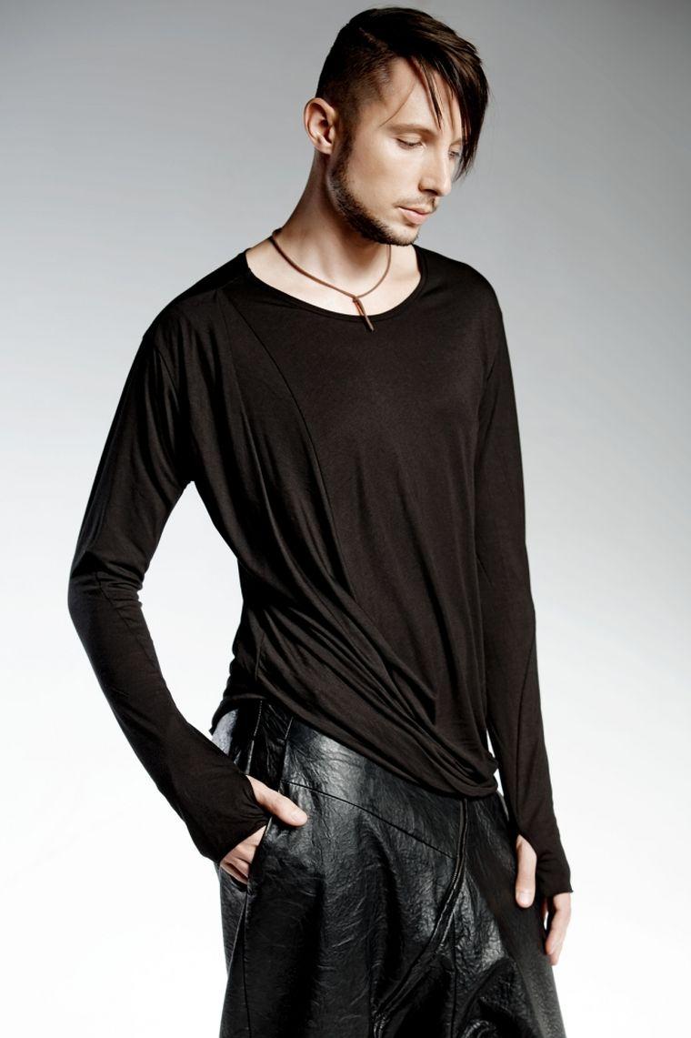 camiseta negra algodon diseno pendari augustine ideas