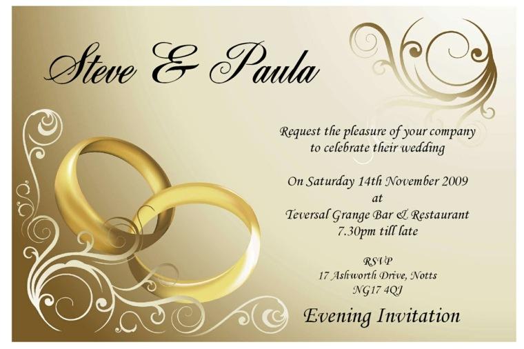 bodas invitaciones elegantes - Invitaciones De Boda Elegantes