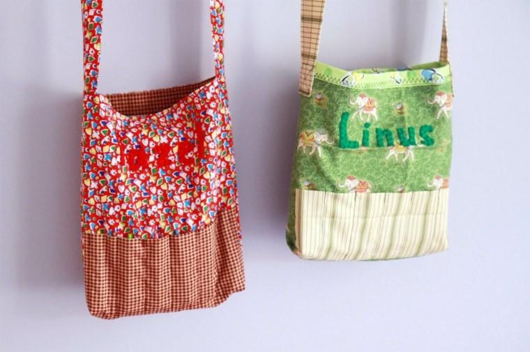 bolsos originales telas colores