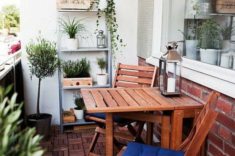 bonita decoración muebles terrazas