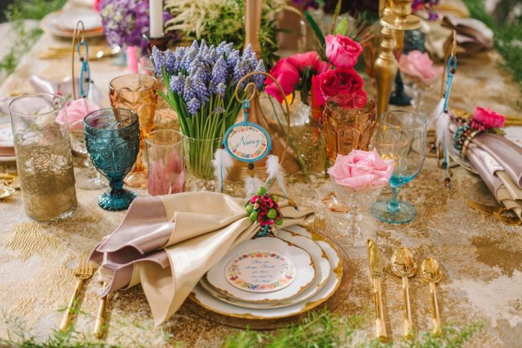 Estilo boho chic para decorar tu boda 34 ideas rom nticas - Decoracion estilo hippie chic ...
