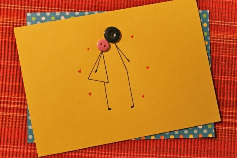 bonita tarjeta estilo minimalista