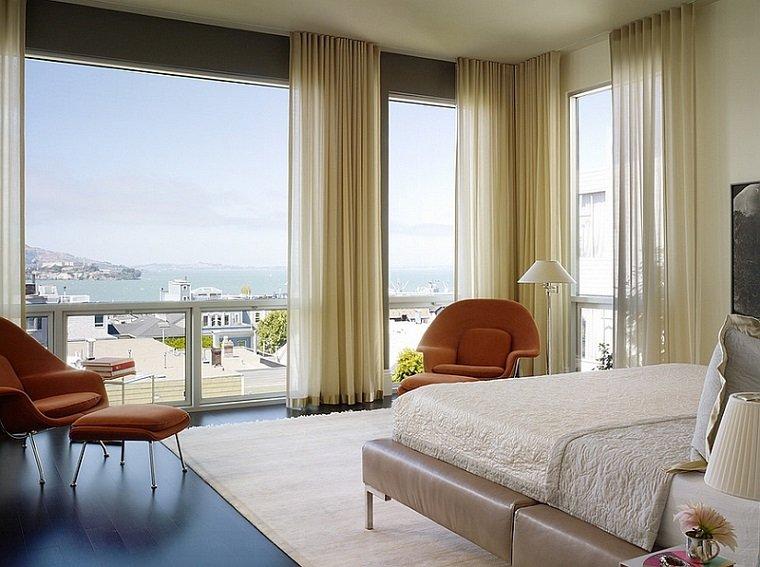Cortinas para ventanas abatibles dise os funcionales y for Tipos de cortinas para salon