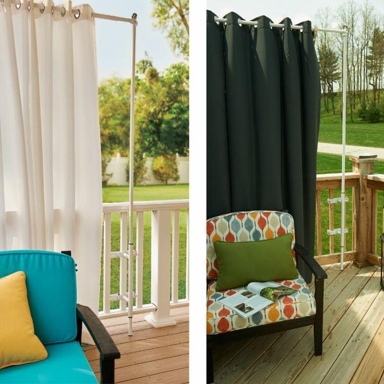 originales cortinas para exterior