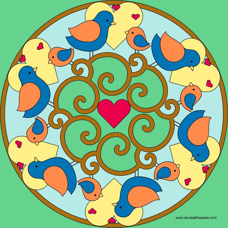 Mandala pollitos