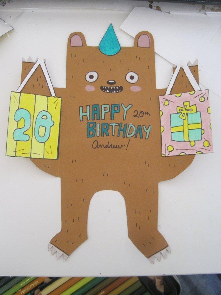 divertida tarjeta cumpleaños