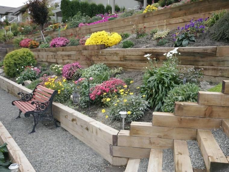 Los jardines aterrazados m s espectaculares de esta for Diseno de gradas