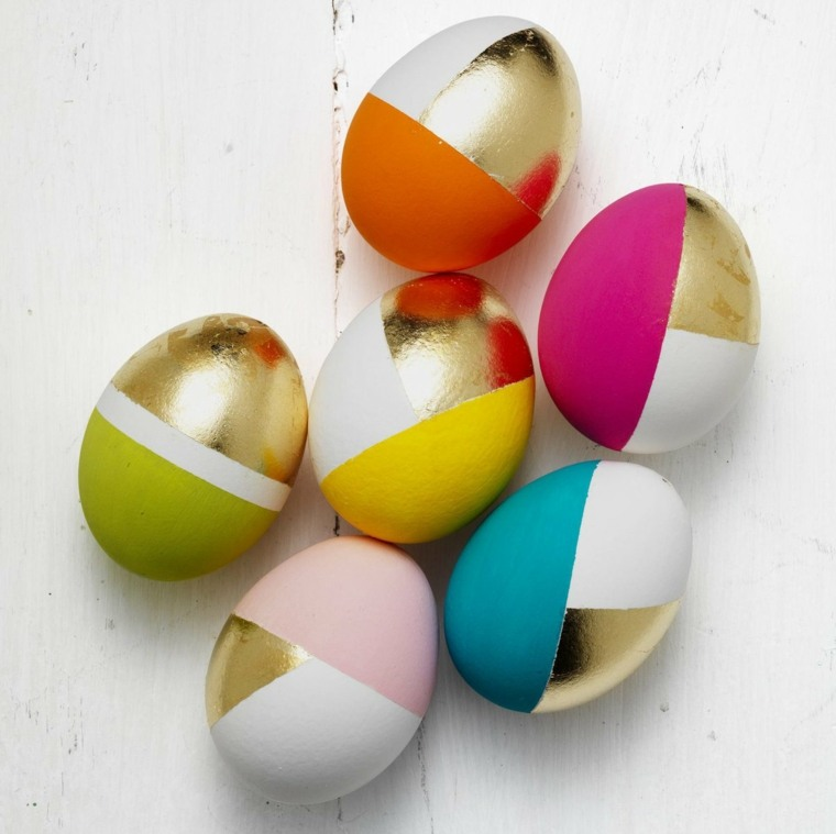 decorar huevos pintura