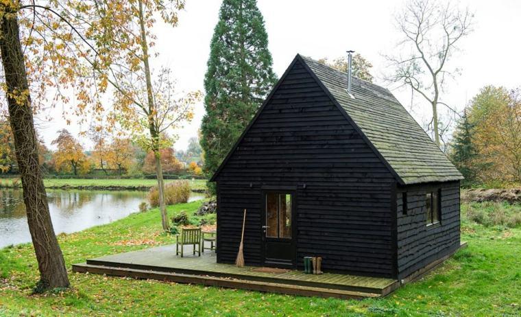bonito diseño cabana madera