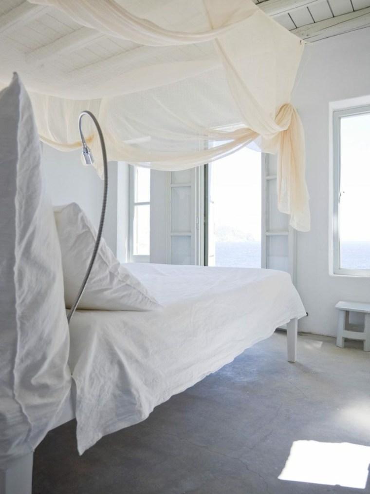camas diseños blanco suelos iluminacion imagenes