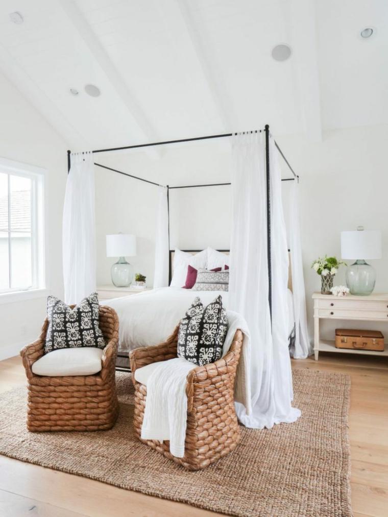 camas diseños dosel metalicas frescas muebles