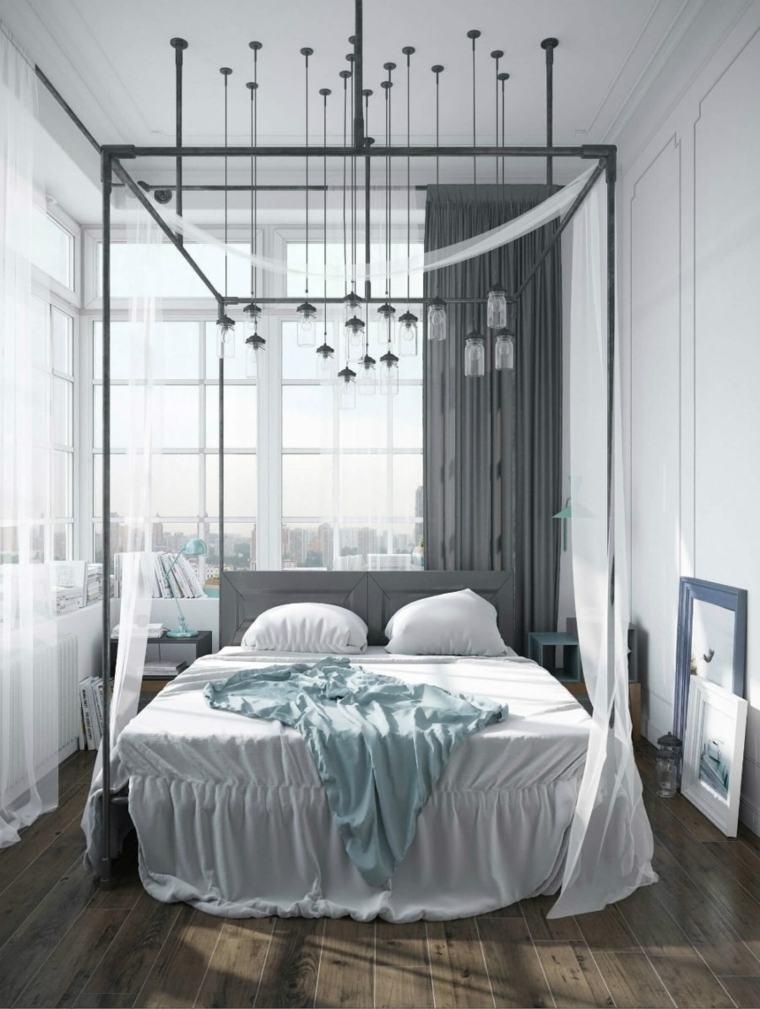 camas diseños suelos madera especiales muebles