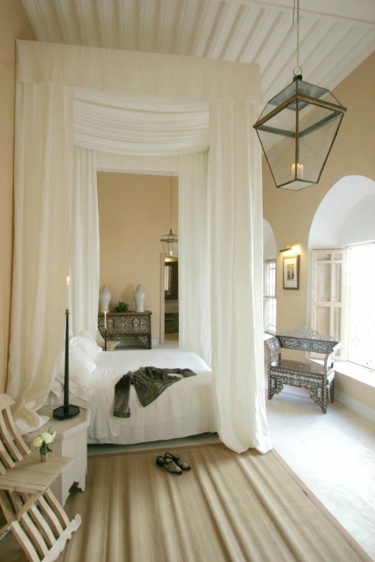 camas diseños tonos crema claro colores