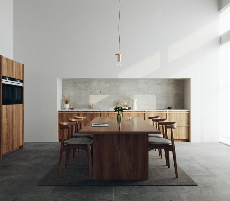 casa comedor muebles opciones madera ideas