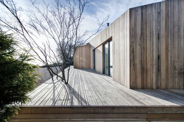 terraza plataforma madera