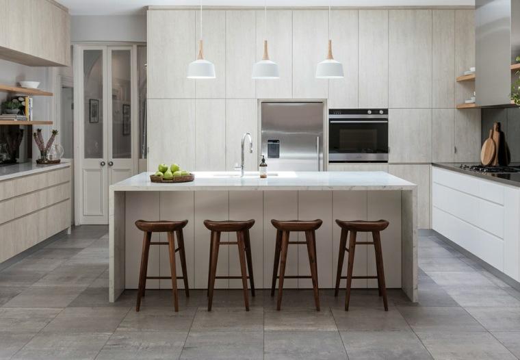 Cocinas modernas - 42 espacio prácticos y funcionales -