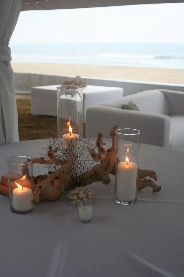 centro mesa elegante