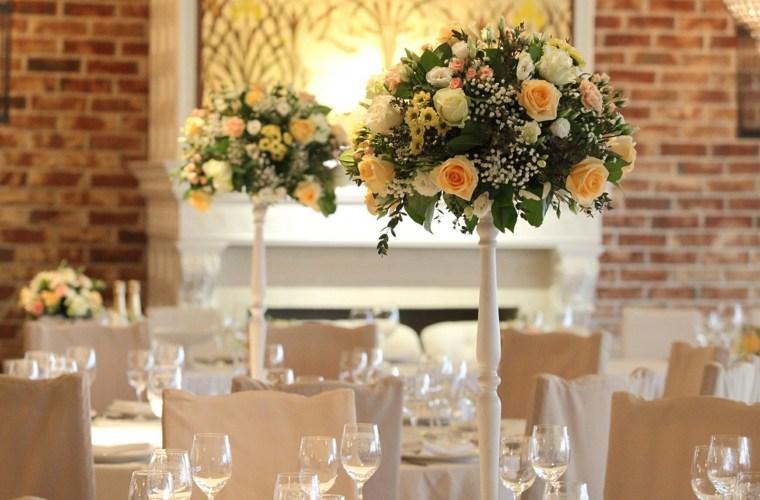 centro mesa ramo flores decoracion original ideas