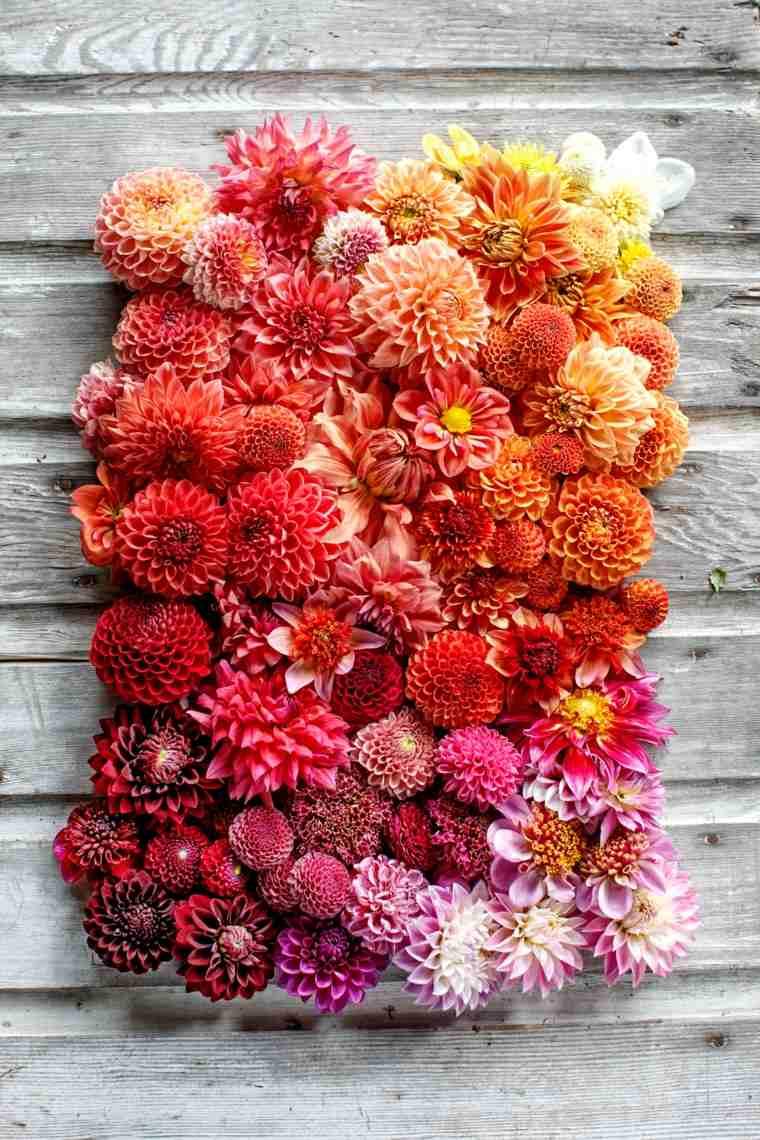 centros de flores decorar boda evento colorido ideas