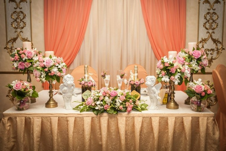 Centros de flores 38 ideas para bodas eventos y fiestas - Decorar tu boda ...