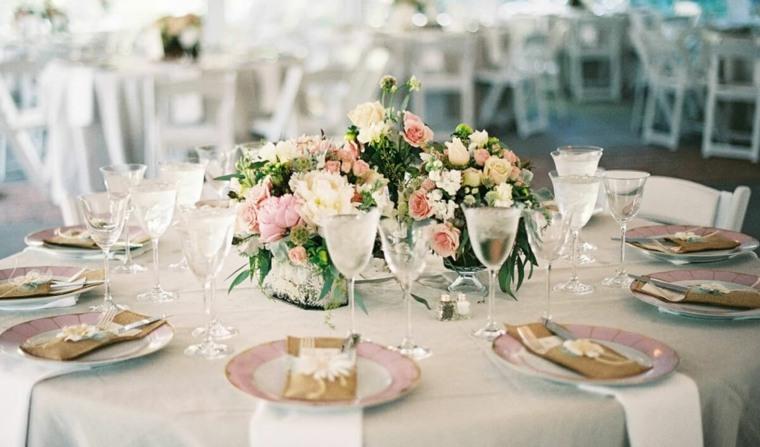 centros de flores decorar boda evento ramos elegante centro ideas