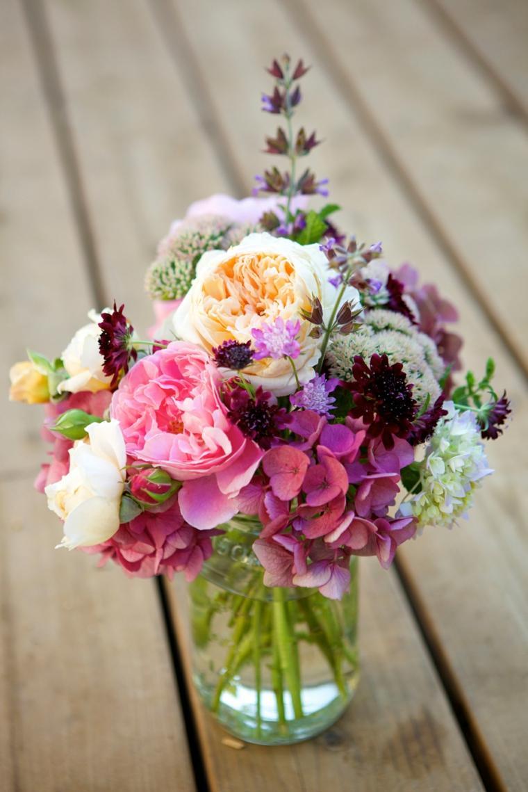 centros de flores decorar boda evento simple diseno ideas