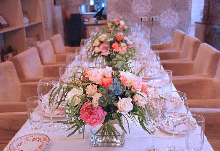 centros de flores ramos originales decorar boda evento ideas